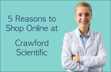 Five reasons to shop online at crawfordscientific.com