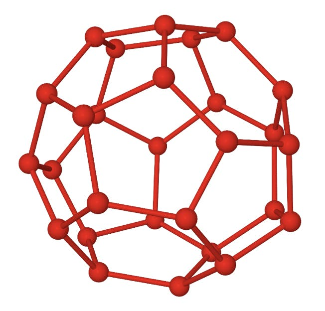 structure of a 51264 water clathrate